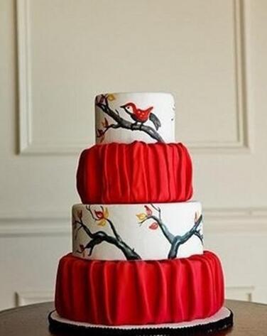 中国风创意结婚蛋糕