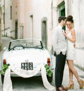 欧美风格外景婚纱照大片欣赏