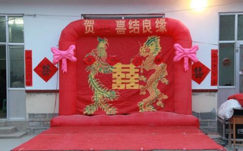 鲁北乡村婚礼现场记录
