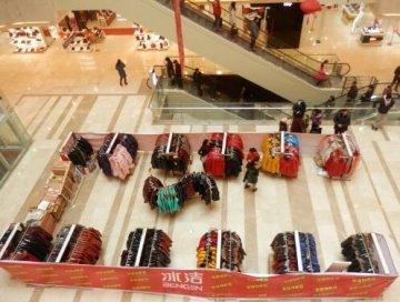 钟祥最大购物中心—中百广场华丽绽放