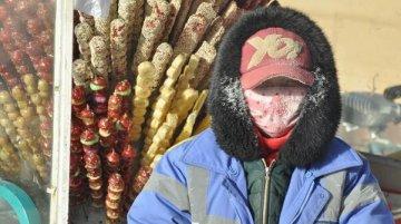 内蒙古呼伦贝尔极寒温度零下60℃