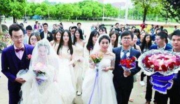 学生情侣办校园婚礼,你怎么看