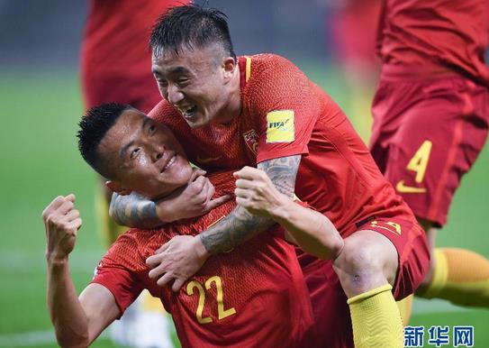 国足1-0韩国获首胜 于大宝建功