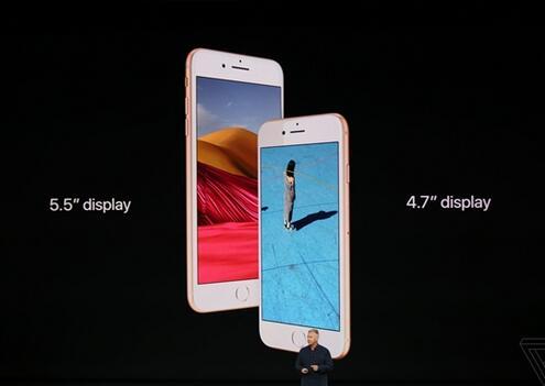 iPhone8正式亮相:4.7/5.5寸+双玻璃