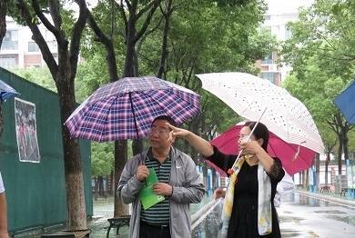 国家网管中心视察京山小学