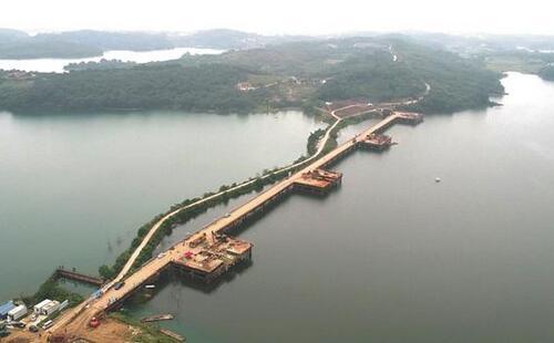 漳河环库公路建设项目计划2018年年底竣工